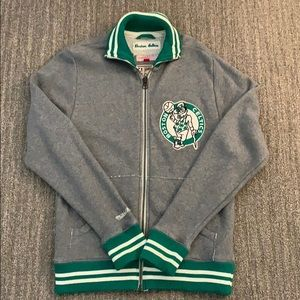 Mitchell & Ness Celtics zip up M